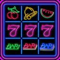 777 Slot Fruit Neon