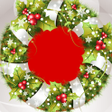 Xmas Wreath Photo Collage