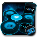 Fidget Spinner Space 3D Theme