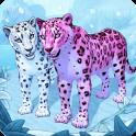 Snow Leopard Family Sim Online