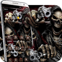 evil Skeleton brother 3d theme