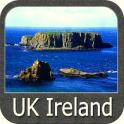UK Ireland GPS Map Navigator
