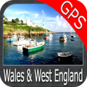 Wales and West England GPS Map Navigator