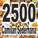 2500 Resep Camilan Sederhana