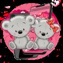 Pink Teddy Bear Lover Theme