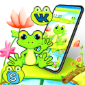 Happy Cute Frog Theme