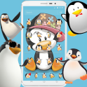 Cute Cartoon Penguin Theme