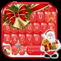 Red Christmas1 Tema de teclado