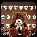 Brown Teddybear Tema de teclado