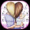 Bff Friends Keyboard Theme