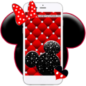 Cute Red Mice Live wallpaper
