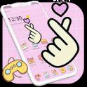 Pink Finger Love Romantic Theme