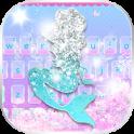 Glitter Mermaid Theme Keyboard