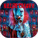 Scary Killer Clown Keyboard Theme