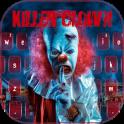 Aterrador asesino payaso teclado tema
