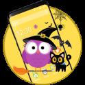 Cute Halloween Owl Theme
