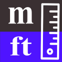 Meters to feet / m to ft converter