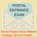 Postal Entrance Exam Solved Papers Study Material