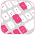 White Pink Keyboard