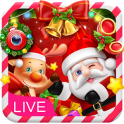 3D Happy Christmas Santa Theme