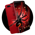 Red Poisonous Spider Theme