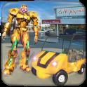 US Robot Shopping Mall Car Taxi Driver