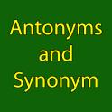 Antonyms and Synonym In Hindi & English
