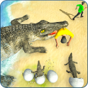 Crocodile Simulator Attack Game 3D