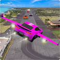 Flying Car Rescue Game 3D: Flying Simulator