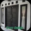 Minimalist door design