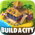 Construye tu Ciudad Tropical (Town Build Sim Game)