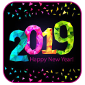 New Year 2019 HD Images Wishesh Messages GIF
