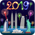 New Year Fireworks Livewallpaper 2019