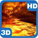 Autumn River Glitter Beams