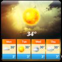 weather and clock widget❄️⛈