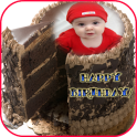 Birthday Chocolate Cake Frames