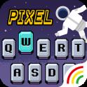 Pixel Emoji Keyboard Theme