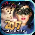 New Year 2017 Festive Frames