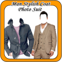Man Stylish Coat Photo Suit