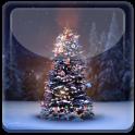 Winter Snow Christmas Tree LWP