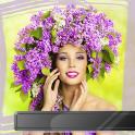 Lilac Flowers Photo Frames