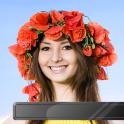 Flower Crown Photo Montage