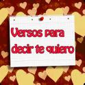Versos para decir te quiero