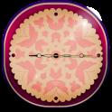 Butterfly Wallpaper Clock
