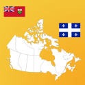 Canada Province Maps and Flags