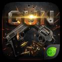Gun GO Keyboard Theme & Emoji