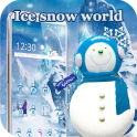 HD ice snow Queen snow theme