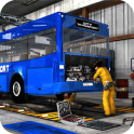 Bus Mechanic Auto Repair Shop-Car Garage Simulator