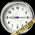 3D Retro Clock Live Widget