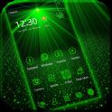 Laser light green tech Theme